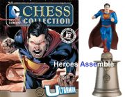DC Chess Figurine Collection #65 Ultraman With Chess Board Forever Evil Eaglemoss
